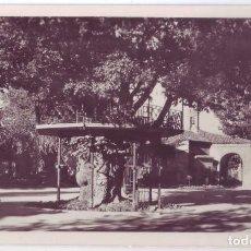 Postales: SORIA: PARQUE MUNICIPAL. TEMPLETE DE LA MÚSICA. ED. GARCÍA GARRABELLA. NO CIRCULADA (AÑOS 50). Lote 74418367