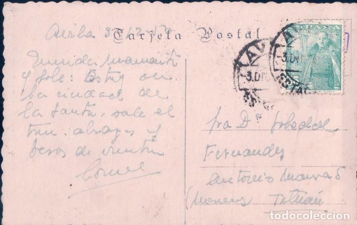 POSTAL AVILA.- SAN VICENTE, SEPULCRO DE LOS SANTOS MARTIRES. 37. ED. ARRIBAS. CIRCULADA (Postales - España - Castilla y León Antigua (hasta 1939))
