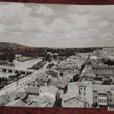Postales: FOTO POSTAL DE PALENCIA, VISTA GENERAL, ED. SICILIA Nº 2, CIRCULADA. Lote 74549847