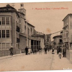 Postales: PS7305 MIRANDA DE EBRO 'LIBERTAD (ALLENDE)'. M. PERALTA. SIN CIRCULAR. PRINC. S. XX. Lote 74928907