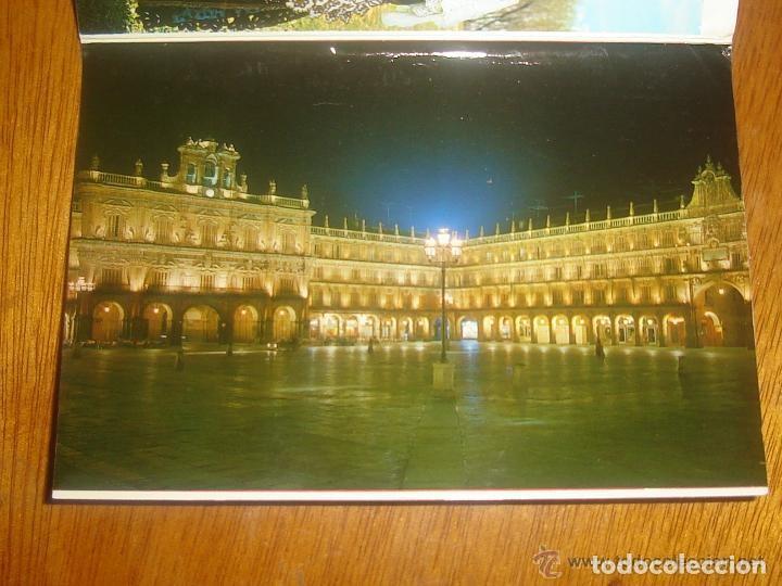 Postales: Lote de 2 tiras con 18 postales de Salamanca. Cervantes. - Foto 3 - 76381247