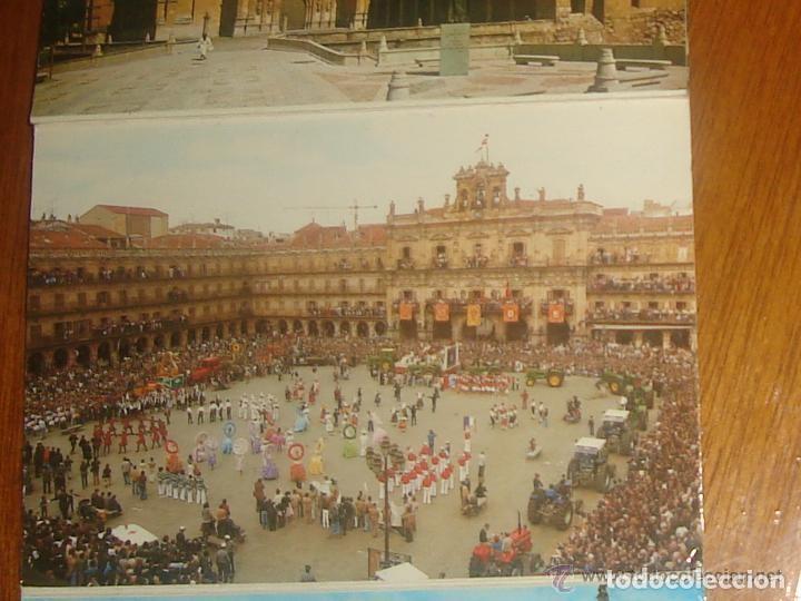 Postales: Lote de 2 tiras con 18 postales de Salamanca. Cervantes. - Foto 5 - 76381247
