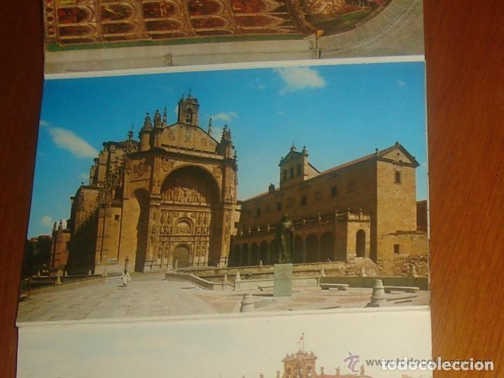 Postales: Lote de 2 tiras con 18 postales de Salamanca. Cervantes. - Foto 6 - 76381247