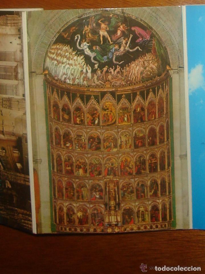 Postales: Lote de 2 tiras con 18 postales de Salamanca. Cervantes. - Foto 7 - 76381247
