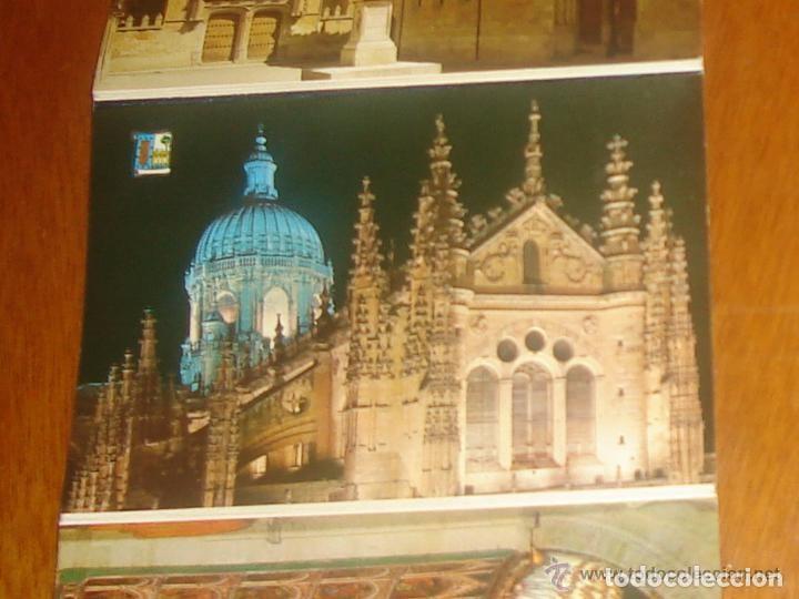 Postales: Lote de 2 tiras con 18 postales de Salamanca. Cervantes. - Foto 9 - 76381247