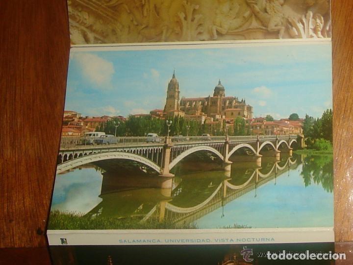 Postales: Lote de 2 tiras con 18 postales de Salamanca. Cervantes. - Foto 14 - 76381247