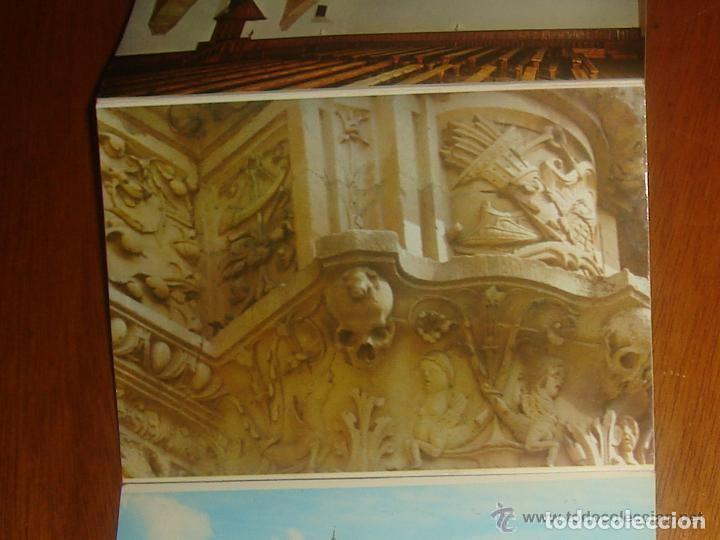 Postales: Lote de 2 tiras con 18 postales de Salamanca. Cervantes. - Foto 15 - 76381247