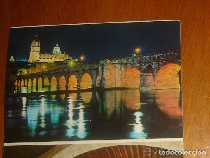 Postales: Lote de 2 tiras con 18 postales de Salamanca. Cervantes. - Foto 17 - 76381247