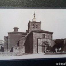 Postales: POSTAL DE SORIA - SAN JUAN DE LA RABANERA SIGLO XIII. Lote 77038741
