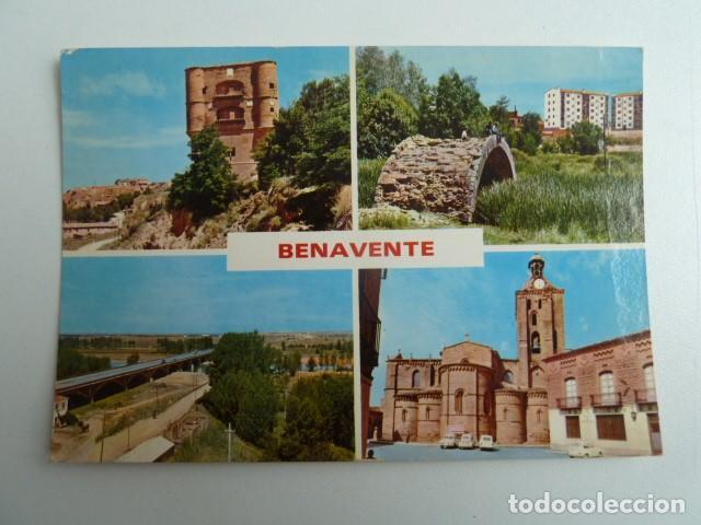 BENAVENTE (ZAMORA) VARIAS VISTAS Nº381 EDICIONES PARIS SIN CIRCULAR (Postales - España - Castilla y León Moderna (desde 1940))