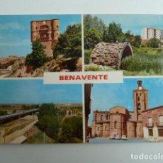 Postales: BENAVENTE (ZAMORA) VARIAS VISTAS Nº381 EDICIONES PARIS SIN CIRCULAR. Lote 77458061