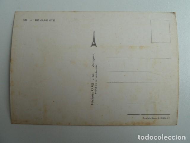 Postales: BENAVENTE (ZAMORA) VARIAS VISTAS Nº381 EDICIONES PARIS SIN CIRCULAR - Foto 2 - 77458061