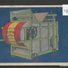 Postales: PALENCIA - PUBLICITARIA - ALONSO - VER REVERSO - (46.767). Lote 78041889