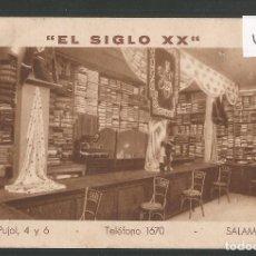 Postales: SALAMANCA - PUBLICITARIA - EL SIGLO XX - VER REVERSO - (46.769). Lote 78042117