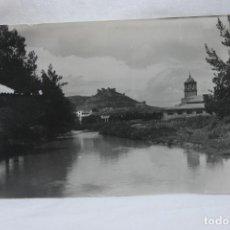 Postales: POSTAL AGUILAR DE CAMPOO, VISTA DESDE EL PUENTE DE LA TEJA, 1963, ALARDE EDICIONES. Lote 78093365
