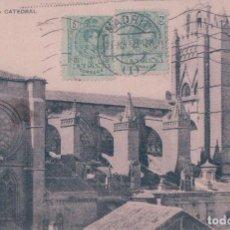 Postales: POSTAL AVILA - LA CATEDRAL 10 - HAUSER Y MENET - CIRCULADA. Lote 79056333
