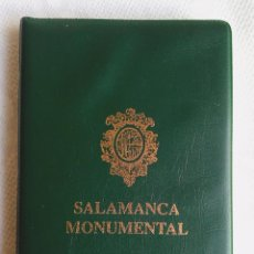 Postales: SALAMANCA MONUMENTAL - 20 POSTALES EN CARPETA.. Lote 79062661