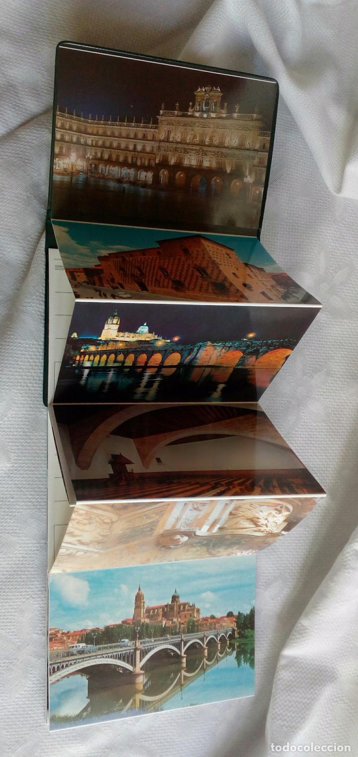Postales: SALAMANCA MONUMENTAL - 20 POSTALES EN CARPETA. - Foto 2 - 79062661
