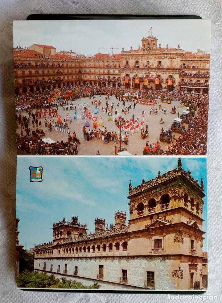 Postales: SALAMANCA MONUMENTAL - 20 POSTALES EN CARPETA. - Foto 5 - 79062661