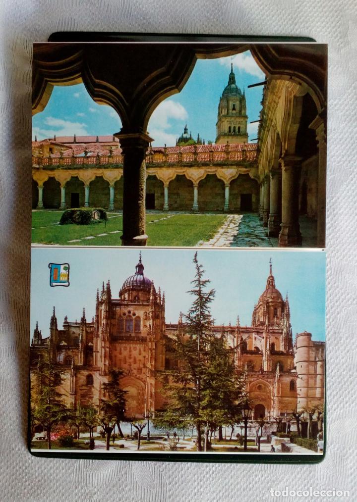 Postales: SALAMANCA MONUMENTAL - 20 POSTALES EN CARPETA. - Foto 6 - 79062661