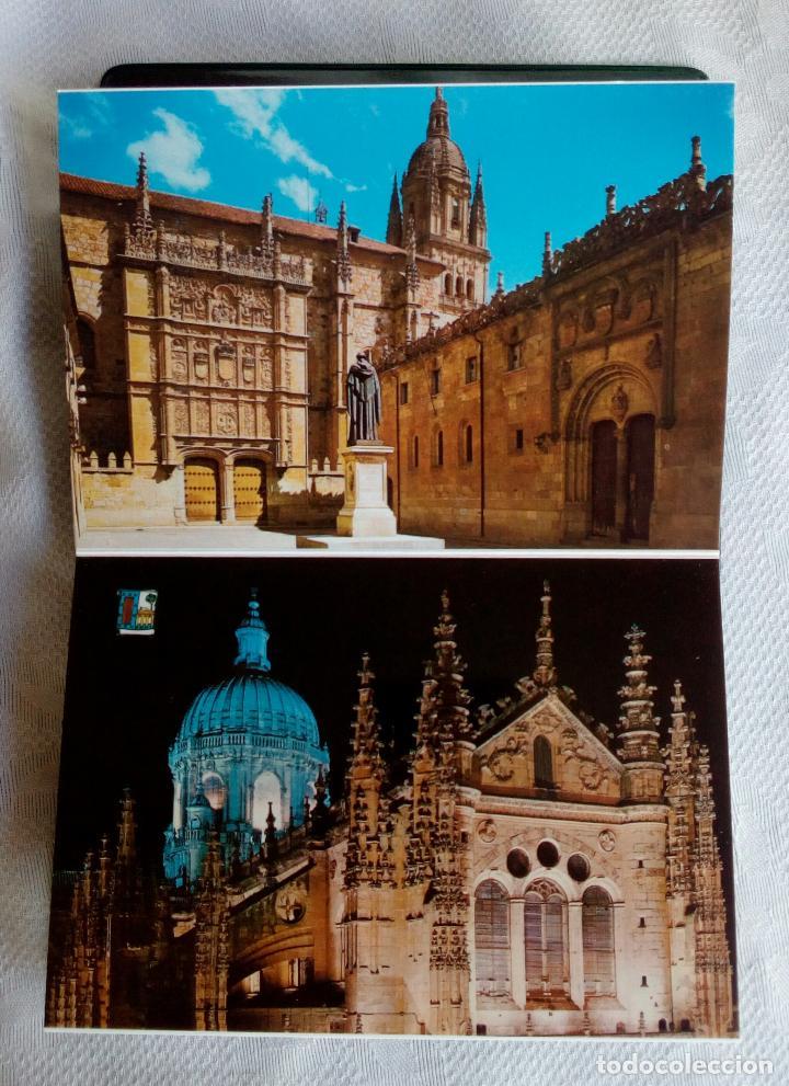 Postales: SALAMANCA MONUMENTAL - 20 POSTALES EN CARPETA. - Foto 8 - 79062661