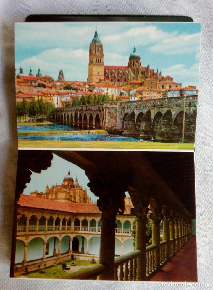 Postales: SALAMANCA MONUMENTAL - 20 POSTALES EN CARPETA. - Foto 9 - 79062661