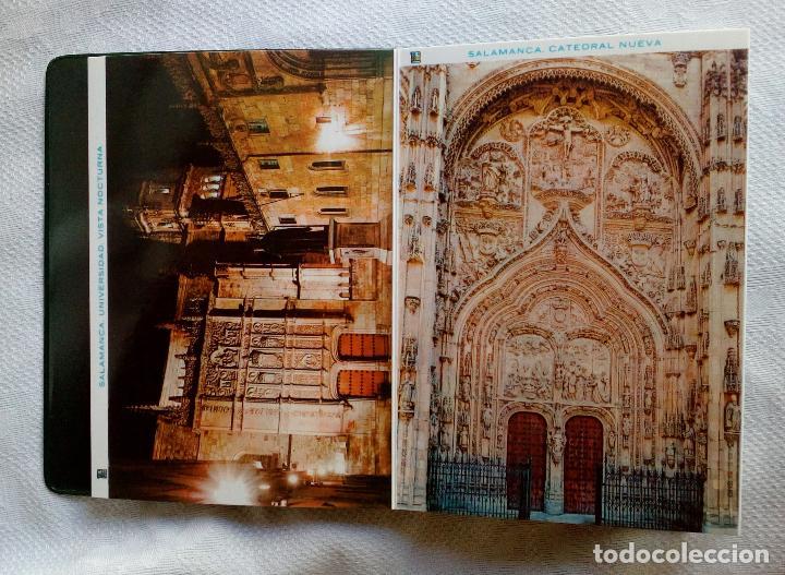Postales: SALAMANCA MONUMENTAL - 20 POSTALES EN CARPETA. - Foto 10 - 79062661