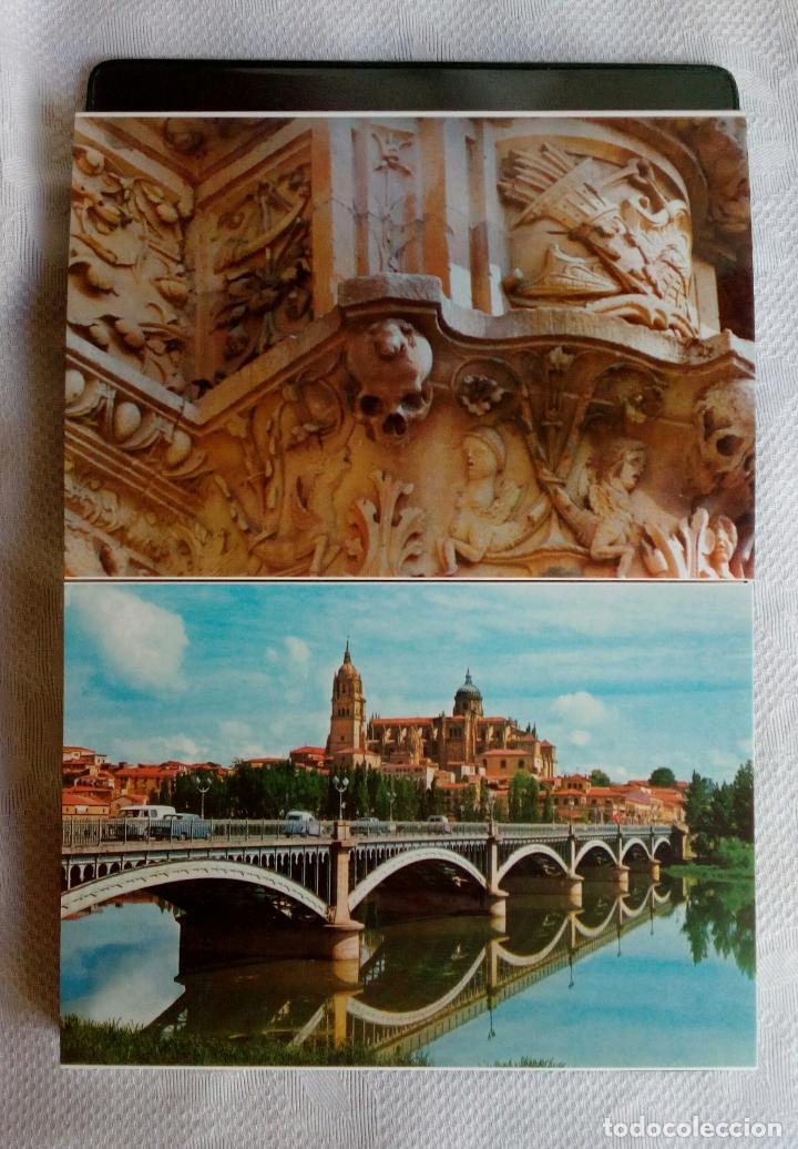 Postales: SALAMANCA MONUMENTAL - 20 POSTALES EN CARPETA. - Foto 11 - 79062661