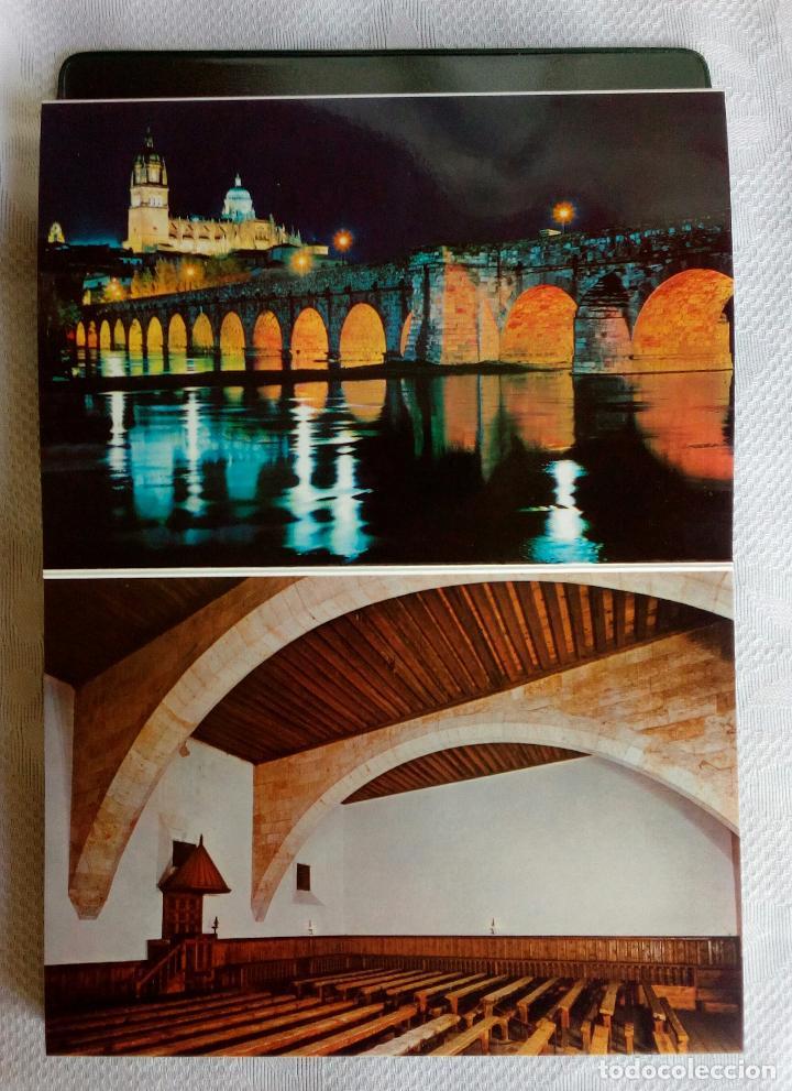 Postales: SALAMANCA MONUMENTAL - 20 POSTALES EN CARPETA. - Foto 12 - 79062661