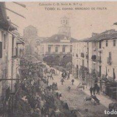 Postales: TORO (ZAMORA) - EL CORRO, MERCADO DE FRUTA. Lote 80413741