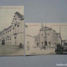 Postales: LOTE DE 2 POSTALES ANTIGUAS DE ALBA DE TORMES.. Lote 80751634