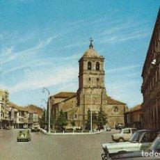 Cartes Postales: AGUILAR DE CAMPOO PALENCIA. PLAZA DE ESPAÑA, 1967. Lote 81193856