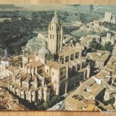 Postales: SEGOVIA - CATEDRAL - VISTA AEREA. Lote 82717548