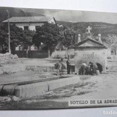 Postales: POSTAL SOTILLO DE LA ADRADA-AVILA- CIRCULADA AÑOS 60 -CM. Lote 83192204