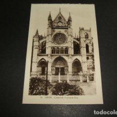 Postales - LEON CATEDRAL FACHADA SUR - 84662676