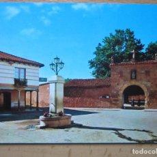 Postales: CARRIZO DE LA RIVERA. LEON. PLAZA MAYOR. (BEASCOA 6403). AÑO 1965.. Lote 143615001