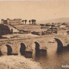 Postales: BARCO DE AVILA (AVILA) - EL CASTILLO Y RIO TORMES. Lote 86403068