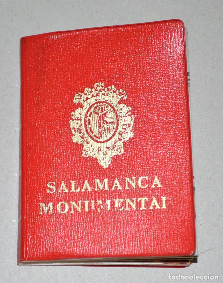 ANTIGUA LIBRETA POSTALES SALAMANCA MONUMENTAL (Postales - España - Castilla y León Moderna (desde 1940))