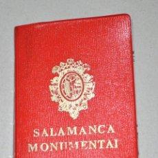 Postales: ANTIGUA LIBRETA POSTALES SALAMANCA MONUMENTAL. Lote 86530608