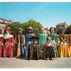 Postales: POSTAL DE BURGOS: COMPARSA DE GIGANTES Y GIGANTILLOS. Lote 86533332