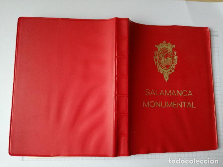 Postales: 20 POSTALES LIBRO ACORDEON POSTAL - SALAMANCA - SALAMANCA MONUMENTAL - ED. PERGAMINO 1971 - Foto 3 - 86643828