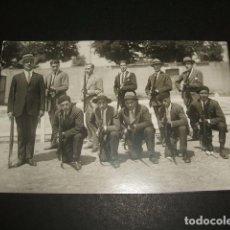 Cartoline: VALLADOLID GRUPO DE SOMATENES POSTAL FOTOGRAFICA AÑOS 20. Lote 86670324