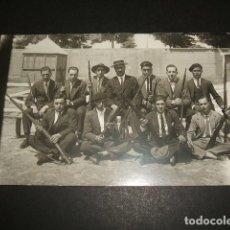 Cartoline: VALLADOLID GRUPO DE SOMATENES POSTAL FOTOGRAFICA AÑOS 20. Lote 86670360
