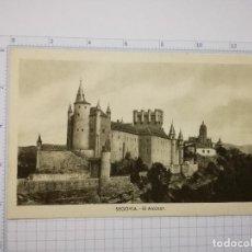 Postales: ANTIGUA POSTAL - SEGOVIA - EL ALCAZAR - ED. ARRIBAS. Lote 86681572