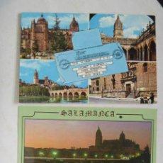 Postales: LOTE DE 2 POSTALES DISTINTAS DE SALAMANCA .. Lote 86725552