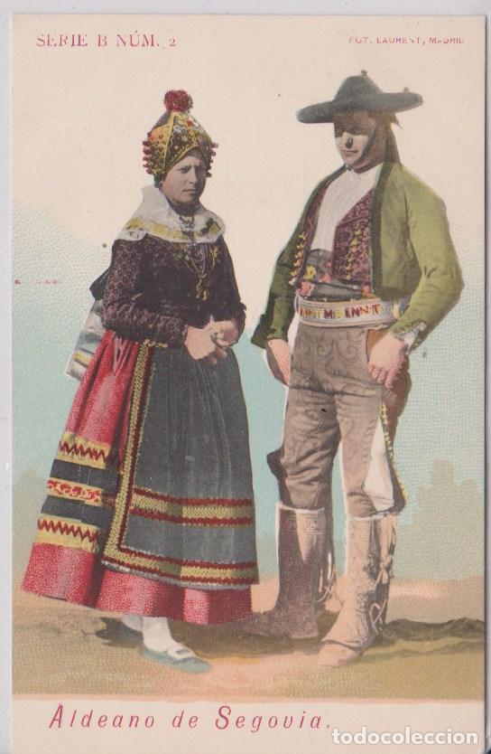 SEGOVIA - ALDEANOS DE SEGOVIA (Postales - España - Castilla y León Antigua (hasta 1939))
