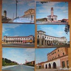 Postales: LOTE DE 6 POSTALES. FUENTES DE OÑORO. SALAMANCA. ESTACIÓN F.C. FERROCARRIL....(ROYUELA-AREVALO).. Lote 133655602