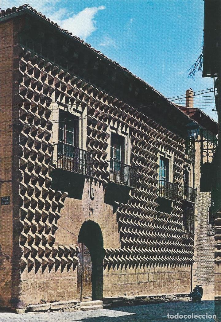 POSTAL : CASA DE LOS PICOS. SEGOVIA (Postales - España - Castilla y León Moderna (desde 1940))