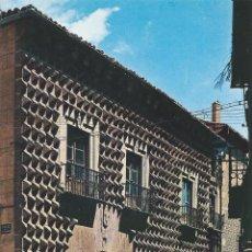 Postales: POSTAL : CASA DE LOS PICOS. SEGOVIA. Lote 87628056