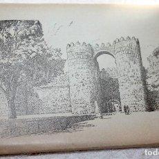 Postales: BLOC ÁVILA ACORDEÓN 10 POSTALES + 1 POSTAL TAMBIÉN DE ÁVILA DE REGALO. Lote 88225244